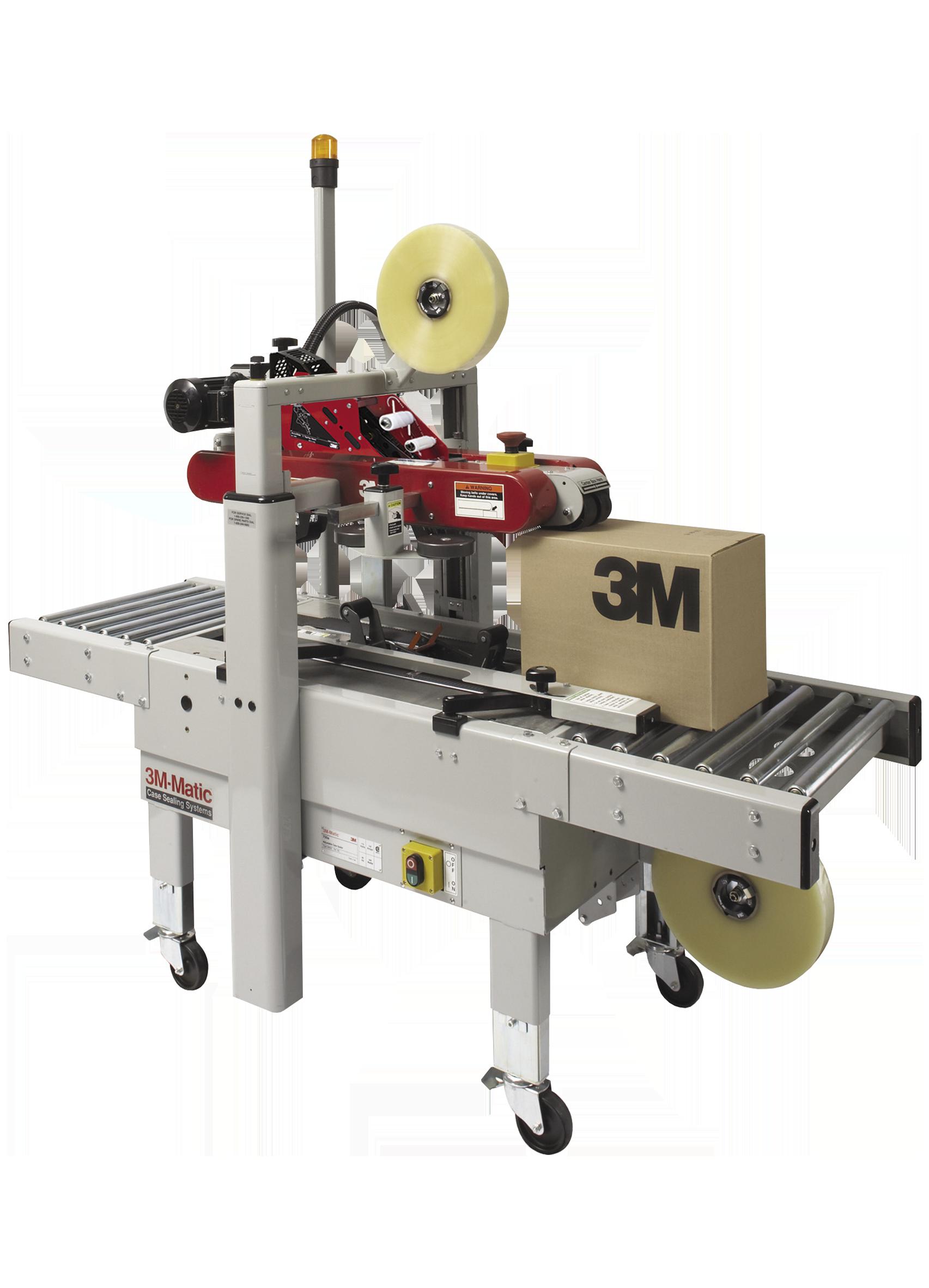 Packaging equipment case sealer machine