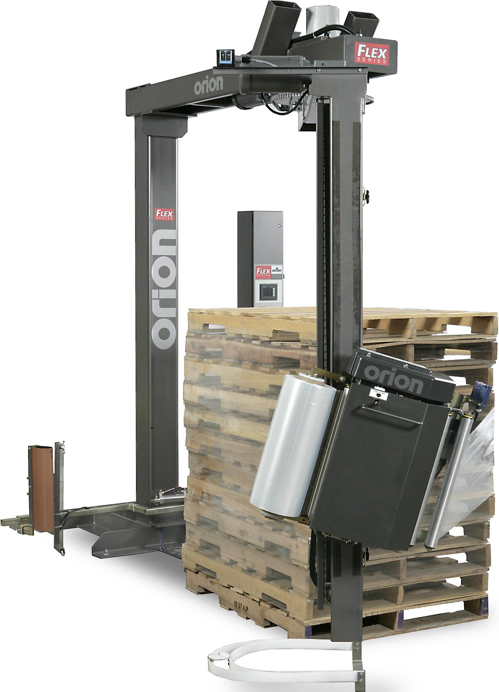 Packaging equipment stretch film machines