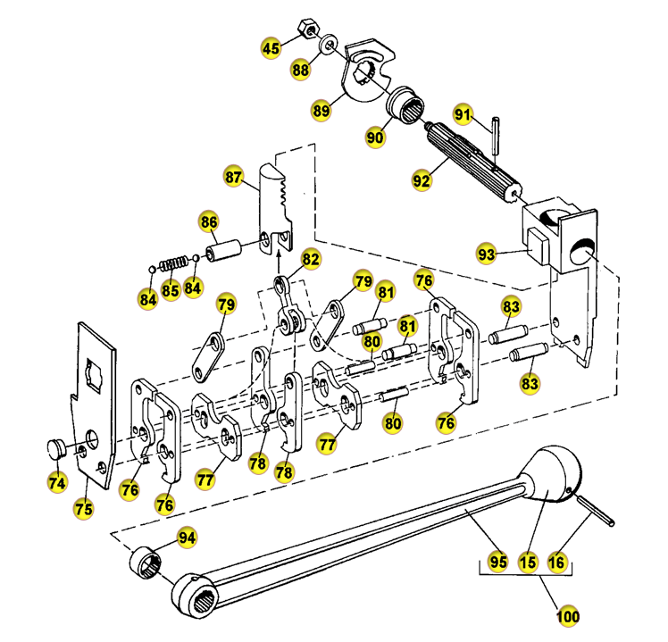 Complete schematics of strapping tools help us to pinpoint the problem without having to scrap the whole tool for one bad part.