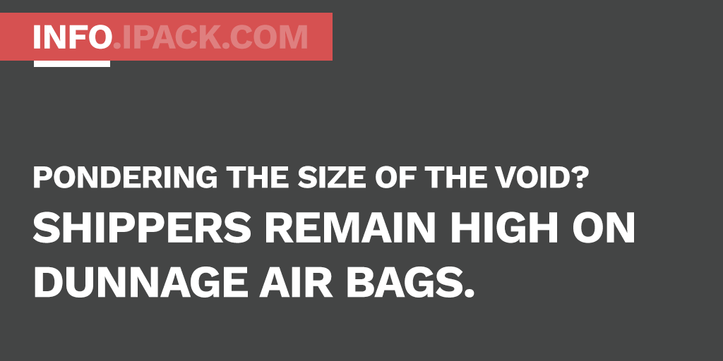 Dunnage Air Bags - No need to ponder the void alone. Let's talk.