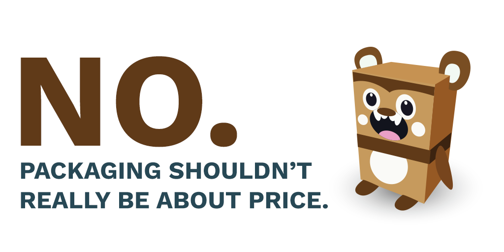 Considering packaging supplies, should price really be the only point?